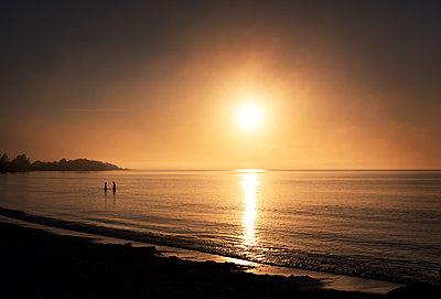 Sonnenuntergang in den Tropen - p1515m2053460 von Daniel K.B. Schmidt