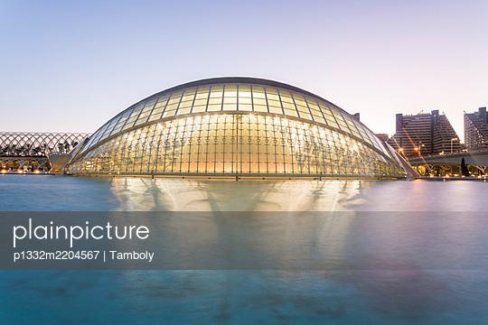 Spain, Valencia, L'Hemisfèric, City of arts and sciences  - p1332m2204567 by Tamboly