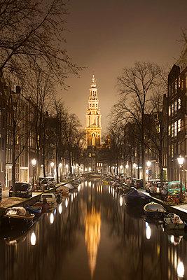 Zuiderkerk (Southern Church) from Groenburgwal - p429m819521 by Alex Holland