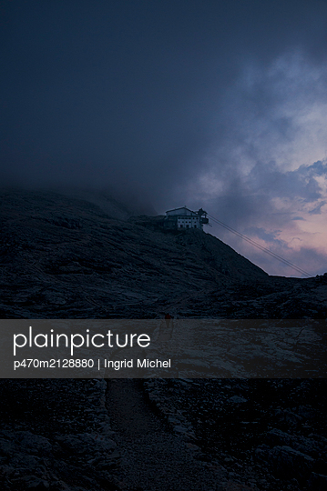 Rosetta cable car in the Pale di San Martino - p470m2128880 by Ingrid Michel