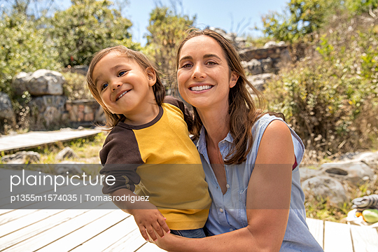 Mutter und Sohn - p1355m1574035 von Tomasrodriguez