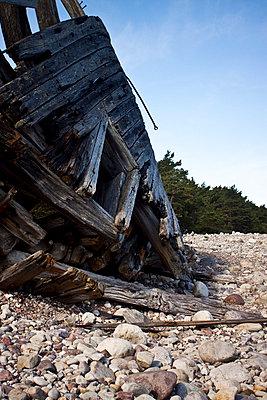 Abandoned shipwreck - p8580038 by Lucja Romanowska