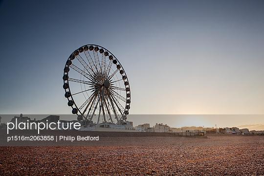 Riesenrad in Brighton - p1516m2063858 von Philip Bedford