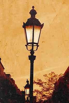 Street lamp - p450m2211072 by Hanka Steidle