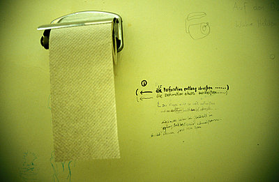Toilet paper - p1000130 by Andreas Klammt