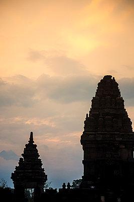 Prambanan temple complex - p1108m1190944 by trubavin