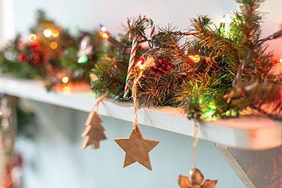 Weihnachtsdekoration - p1433m2126514 von Wolf Kettler