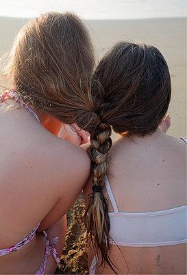 Sister's Braid - p1636m2216230 by Raina Anderson