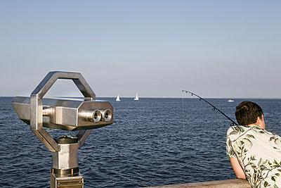 Angler an der Ostsee - p1222m1169410 von Jérome Gerull