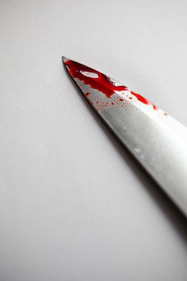 Bloody Cutting weapon - p1623m2197037 by Donatella Loi