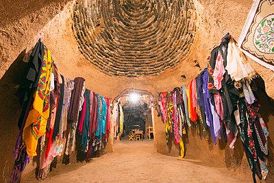 Inside a bee-hive mud brick house, village of Harran, Anatolia, Turkey, Asia Minor, Eurasia - p871m1082185 by Christian Kober