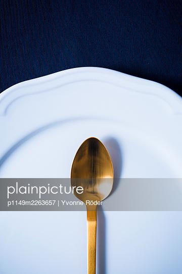 Golden spoon - p1149m2263657 by Yvonne Röder