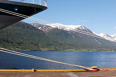 Andalsnes; Romsdalfjord; Norway - p039m764135 by Christine Höfelmeyer