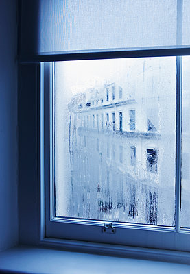 Mist on a window - p312m1076204f by Bruno Ehrs