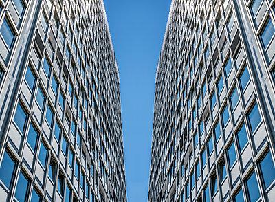Skyscraper facades - p401m2260131 by Frank Baquet