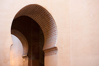Archway at the Alhambra - p781m881275 by Angela Franke