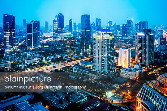 Jakarta - p416m1498101 von Jörg Dickmann Photography
