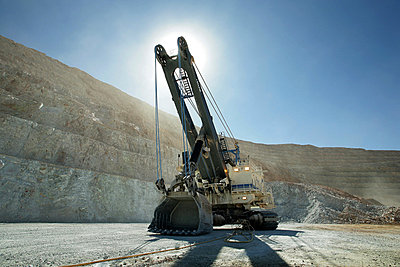 Riesenbagger in der Mine - p1220060 von Oliver Llaneza
