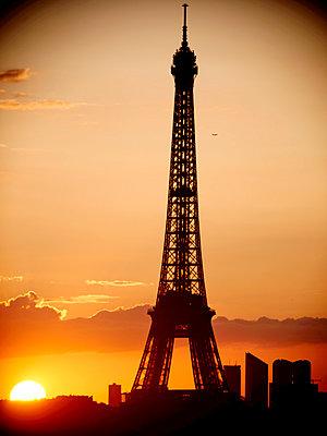 Paris, Eiffel Tower - p1654m2253686 by Alexis Bastin