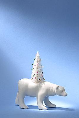 Weihnachtsbär - p237m2039239 von Thordis Rüggeberg