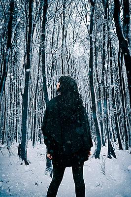 Winterstimmung - p470m2082315 von Ingrid Michel