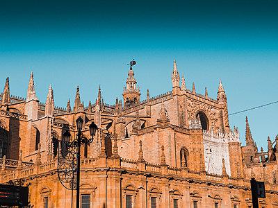 Spain, Andalusia, Sevilla, Cathedral - p1681m2263287 by Juan Alfonso Solis