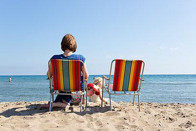 Beach fun - p454m2142220 by Lubitz + Dorner