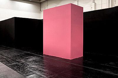 Schwarz und Pink - p7510009 von Dieter Schwer