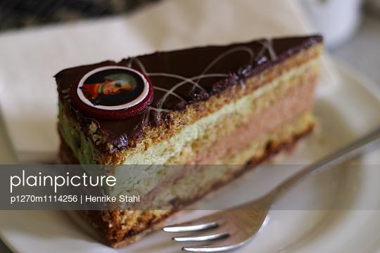 Schokoladenkuchen - p1270m1114256 von Henrike Stahl