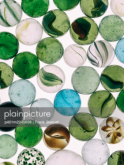 Glass marbles - p401m2245698 by Frank Baquet