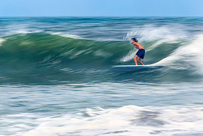 Surfing a wave. - p1108m1030946 by trubavin