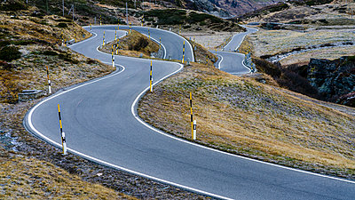 Switzerland, Canton of Graubuenden, Swiss Alps, San Bernardino Pass, Passo del San Bernardino - p300m1537236 by Stefan Schurr