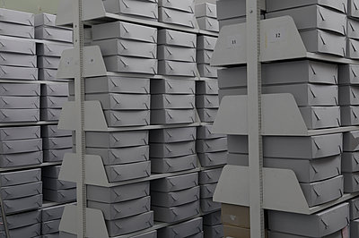 Archivregale - p345m1200425 von Rainer Gollmer