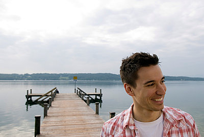 Freizeit am See - p0810459 von Alexander Keller