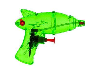 Green Water gun - p1280m2151514 by Dave Wall