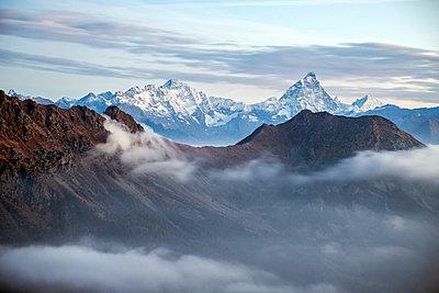 Sunrise on Matterhorn, Natural Park of Mont Avic, Aosta Valley, Graian Alps, Italy, Europe - p871m1056727 by Roberto Moiola