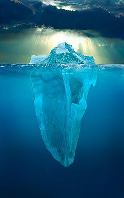 Eisberg - p1403m1534102 von Kike Calvo