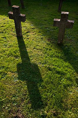 stone crosses - p1057m813694 by Stephen Shepherd