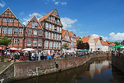 Altstadt von Stade - p3240256 von Bildagentur Hamburg