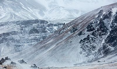 Mountain landscape in the winter - p343m1184514 by Raffi Maghdessian