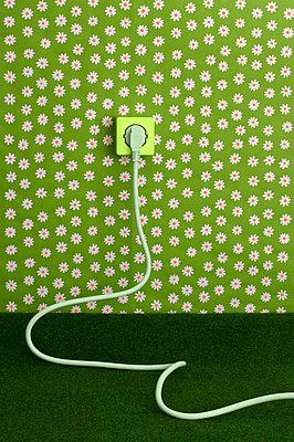 Stecker in einer Steckdose - p4902817 von Yasmin Obst