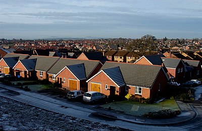 Housing estate - p1048m1029560 by Mark Wagner