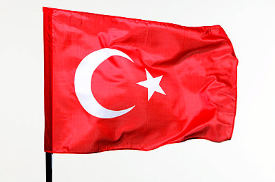 Turkish flag - p2551680 by T. Hoenig