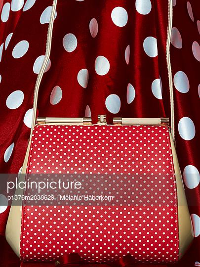 50er Jahre Handtasche - p1376m2038629 von Melanie Haberkorn