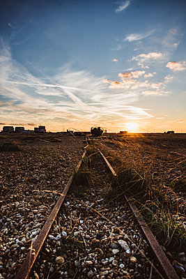 Railway tracks - p1326m2099772 by kemai