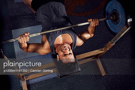 Bodybuilding - p1200m1161352 von Carsten Goerling