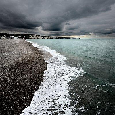 Küste der Normandie - p1137m1201424 von Yann Grancher
