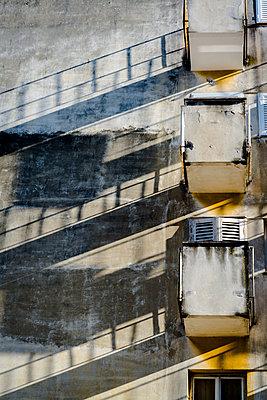 Croatia, Balconies - p1170m2237743 by Bjanka Kadic