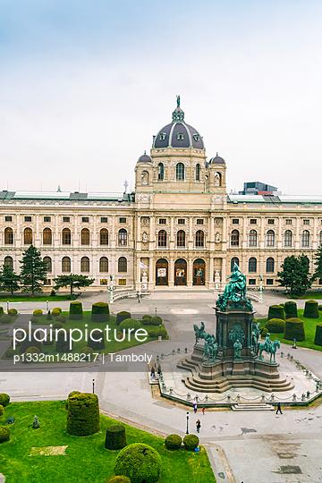 Maria-Theresien-Platz und das Kunsthistorische Museum in Wien - p1332m1488217 von Tamboly