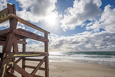 February afternoon at Marine Street Beach - p1436m2063527 by Joseph S. Giacalone